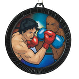 Title Boxing Black Max Victory Winner's Medal - Angle 3