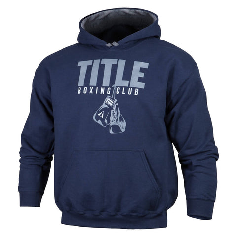 Title Boxing Club Hanging Gloves Hooded Sweatshirt - Angle 2