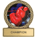 Title Boxing Gloves Champion Medal Award - Angle 3