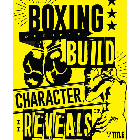 Title Boxing Gym Fight Posters - 6 Pack