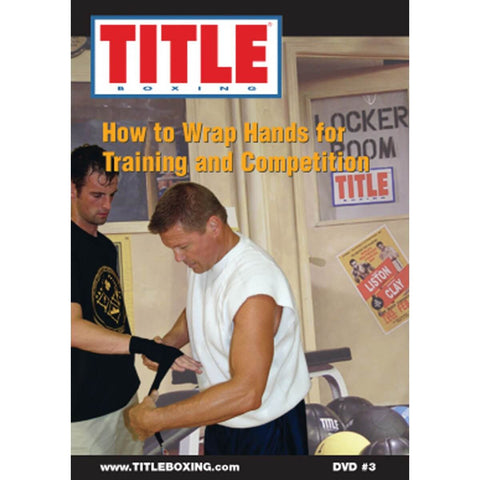 Title Boxing How To Wrap Hands DVD - Main