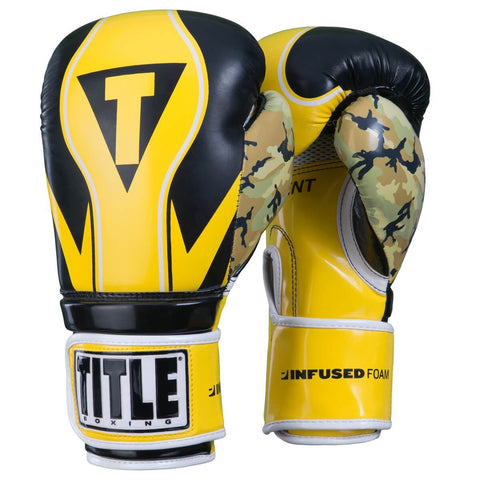 Title Boxing Infused Foam Honor Combat Training Gloves - Main