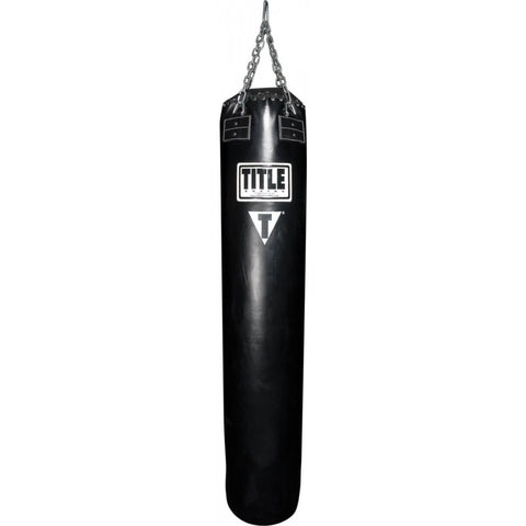 Title Boxing Leather Thai Heavy Bag - Unfilled - Main
