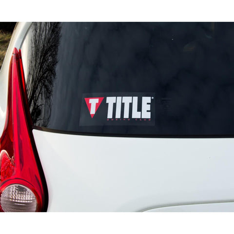 Title Boxing Logo Tbc Sticker Square - Main