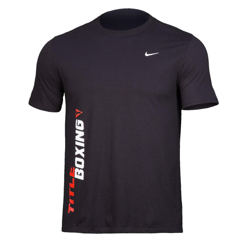 Title Boxing Nike Embroidered Swoosh T-Shirt - Main