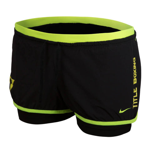 Title Boxing Nike Women's Full Flex 2-N-1 Super Shorts - Main