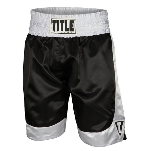 Title Boxing Premier Boxing Trunks - Main