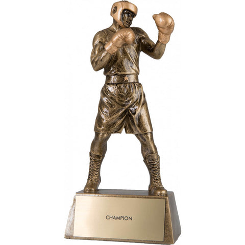 Title Boxing Resin Boxer Winner Sculpture - Main
