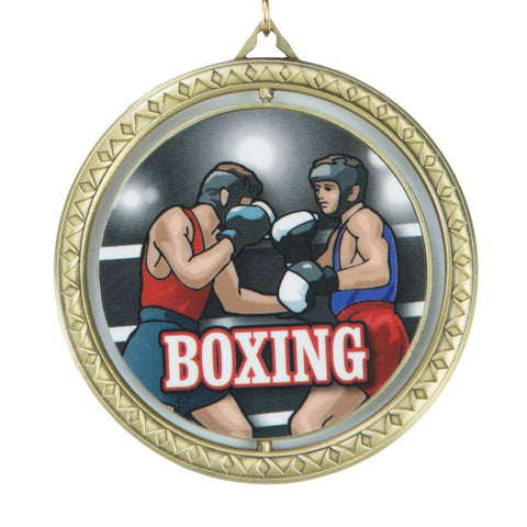 Title Boxing Spinning Winner's Medal - Main