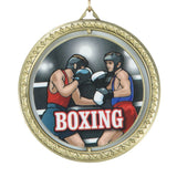 Title Boxing Spinning Winner's Medal - Angle 5