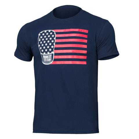 Title Boxing Stars And Stripes T-Shirt - Main