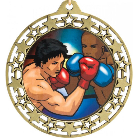 Title Boxing Super Stars Medal Award - Main