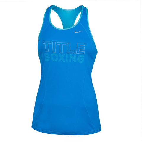 Title Boxing Women's Nike Racer Jersey - Angle 2