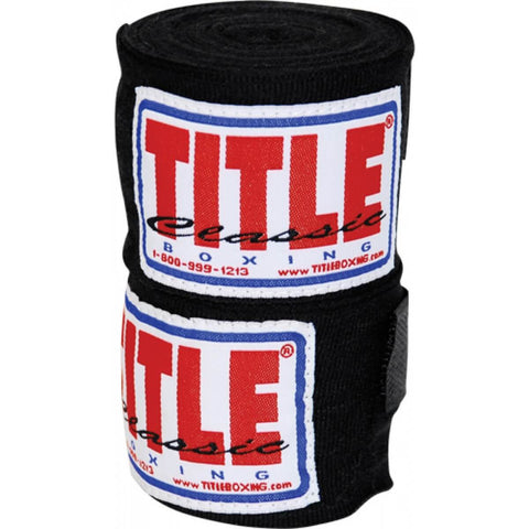 "Title Classic 108"" Advanced Hook & Loop Hand Wraps - Main"