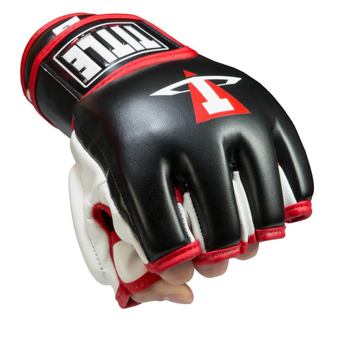 Title Conflict Hook & Loop MMA Training Gloves - Main