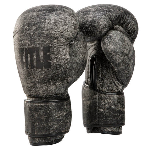 Title Distressed Glory Boxing Training Gloves - Main