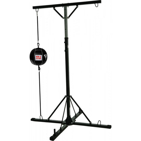 Title Double Trouble Heavy Bag Stand - Main