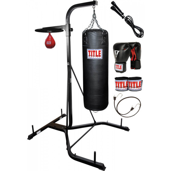 Buy Title Speed Bag & Punching Bag Stand - Full With Bags ...