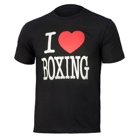Title I Love Boxing T-Shirt - Main