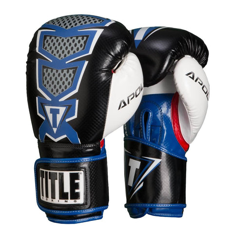 Title Infused Foam Apollo Boxing Bag Gloves - Main