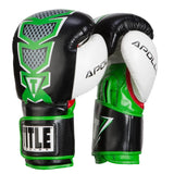 Title Infused Foam Apollo Boxing Bag Gloves - Angle 2