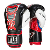 Title Infused Foam Apollo Boxing Bag Gloves - Angle 3