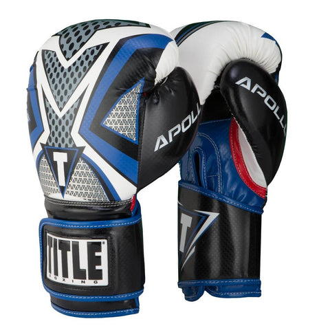 Title Infused Foam Apollo Boxing Training Gloves - Main