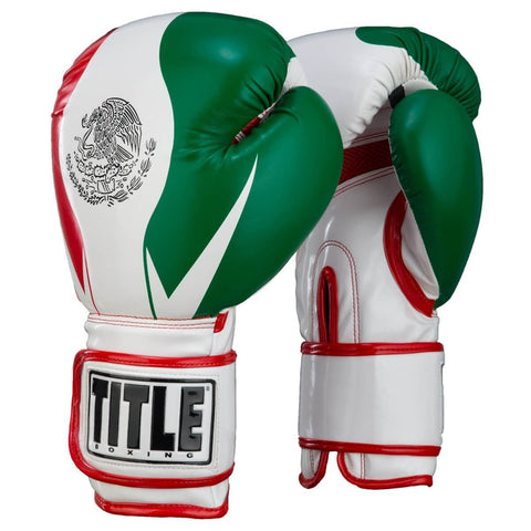 Title Infused Foam Mexico Training Gloves - Main
