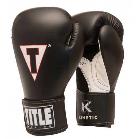 Title Kinetic Energy Aerovent Boxing Gloves - Main