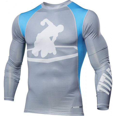 Title MMA Endurance Long Sleeve Rashguard - Main