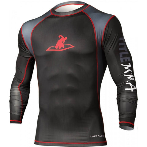 Title MMA Intensity Long-Sleeve Rashguard - Main