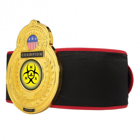 Title MMA Old School Championship Belt - Main