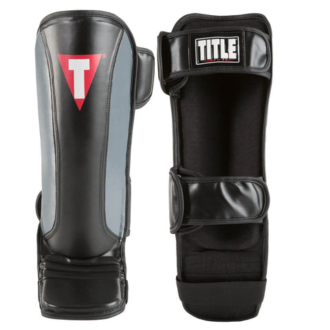 Title MMA Super Sleek Shin Guards - Main