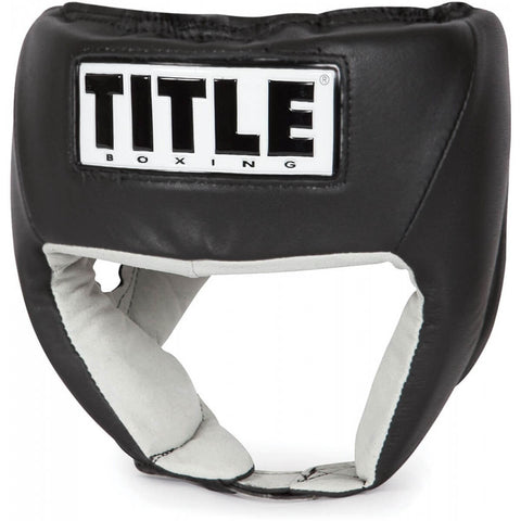 Title Open Face Competition Headgear - Main