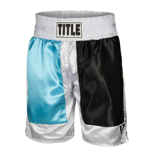 Title Panel Professional Boxing Trunks - Main