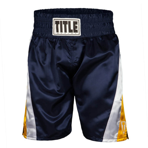 Title Pride Professional Boxing Trunks - Main
