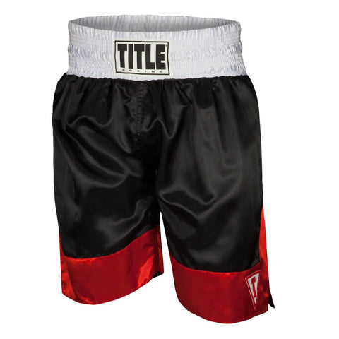 Title Pro Force Boxing Trunks - Main