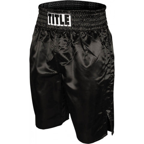 Title Professional Boxing Trunks - Main