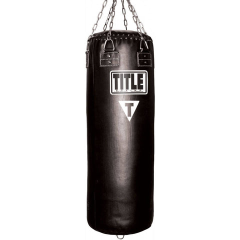 Title Professional Leather Heavy Bag - Unfilled - Main