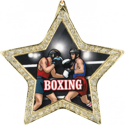 Title Star Spangled Boxing Medal Award - Main