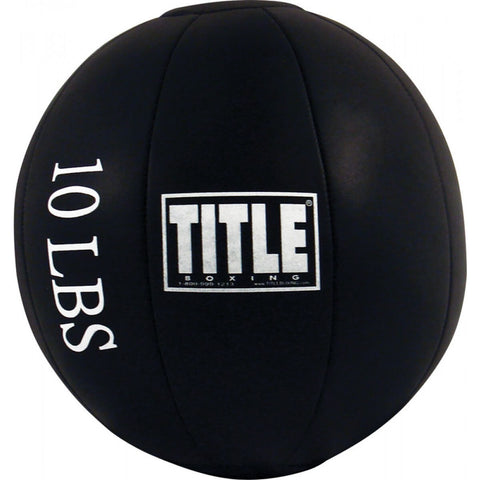 Title Synthetic Leather Medicine Ball - Main
