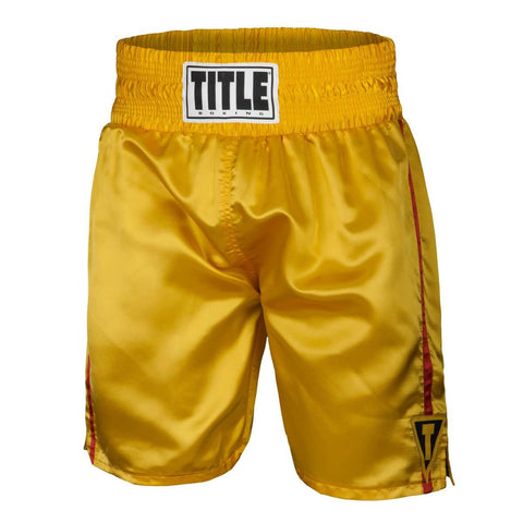 Title Throwback Boxing Fight Trunks - Main