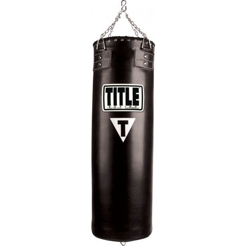 Title Traditional Synthetic Heavy Bag - Unfilled - Main