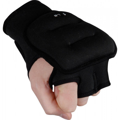 Title Weighted Workout Gloves - Main