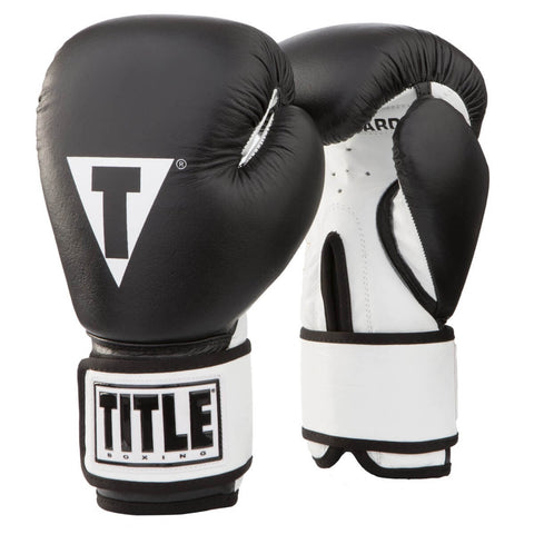 Title Youth Premier Leather Boxing Bag Gloves - Main