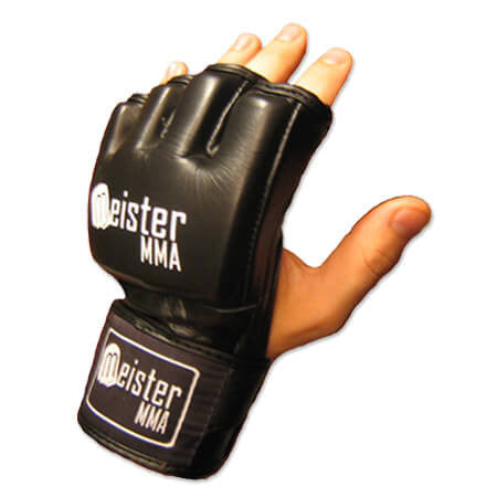 Ultimate MMA Gloves - Black