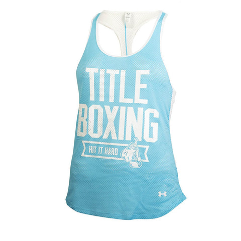 Under Armour Title Boxing Women's Bolo Mesh Tank Top - Main
