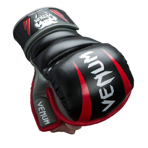 Venum Elite 7 Oz MMA Gloves - Main