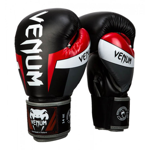 Venum Elite Hook & Loop Boxing Gloves - Main