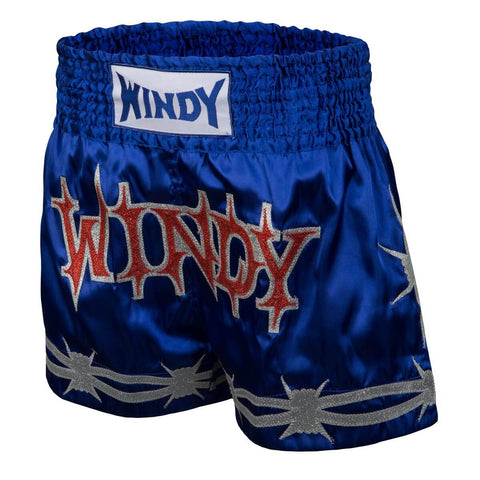 Windy Sport Flash Steel Muay Thai Shorts - Main